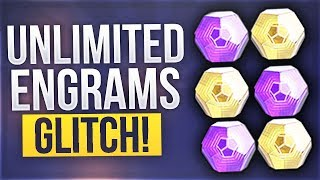 Destiny 2 - NEW UNLIMITED ENGRAMS GLITCH (Exotic & Legendary Engram Glitch)