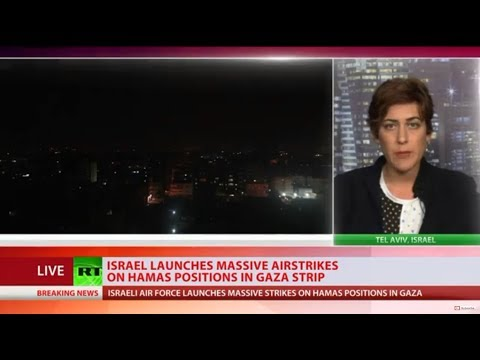 Israel launches massive air strikes on Hamas positions in Gaza - IDF