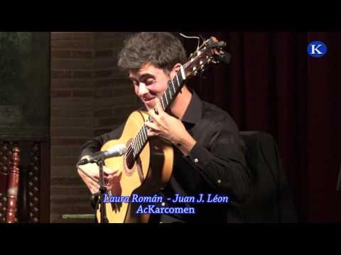 Juan J, Leon y Laura Roman XVIII Concurso Andaluz de Jovenes Flamencos 2017 Semifinal Guitarra