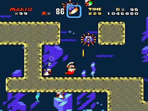 Super Mario World Forest Of Illusion 2 Secret Exit Blue Switch