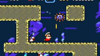 Super Mario World: Forest of Illusion 2 (Secret Exit) & Blue Switch Palace