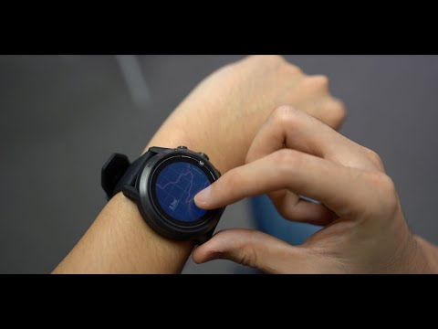 COROS Watches - Touch Screen Features