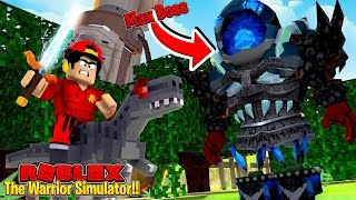 ROBLOX - BECOMING A ROBLOX WARRIOR!!