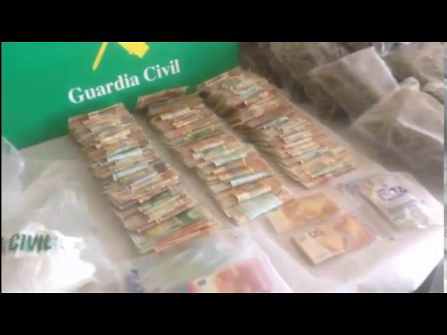 Los investigadores desmantelan dos laboratorios de droga en O Salnés