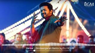 Sarkar - Simtaangaran Remix    Ringtone    BGM (Free download link)