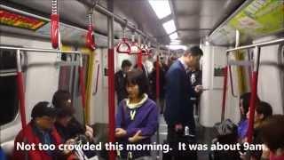 Ocean Park Citybus 629 - Admiralty MTR to Ocean Park Hong Kong