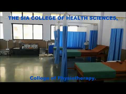 ELECTROTHERAPY AND ELECTRODIAGNOSIS LAB || The S.I.A. College of Health Sciences  ||