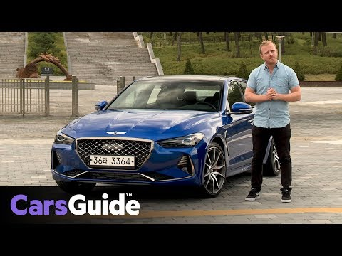 Genesis G70 2018 review first drive video