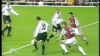 ЛЧ 2000/2001. Арсенал Лондон - Шахтёр Донецк 3-2 (20.09.2000) Video