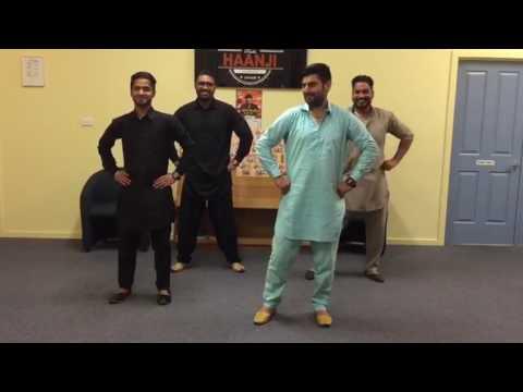 Akhar Punjabi Bhangra Performance | Live Amrinder Gill Melbourne || Radio Haanji 1674AM