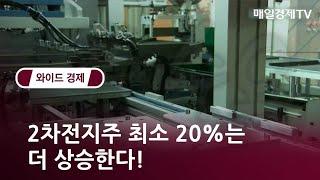 2차전지주 최소 20%는 더 상승한다! / 와이드경제1 / 매일경제TV