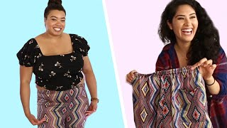 Women Try One-Size-Fits-All Shorts