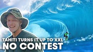 We Had The Cameras Rolling In Tahiti As The World Tour Faced Massive Teahupo'o | No Contest Ep7