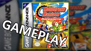 Motocross Maniacs Advance Gameplay