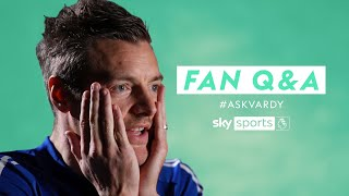 Who is Jamie Vardy's ultimate strike partner? | Fan Q&A with Jamie Vardy