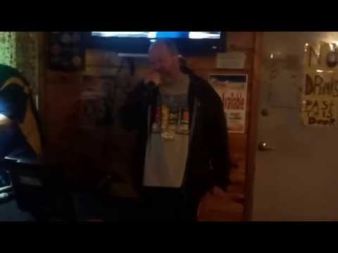 Stained - It's Been Awhile (karaoke at Dry Dock in Harvey,MI)