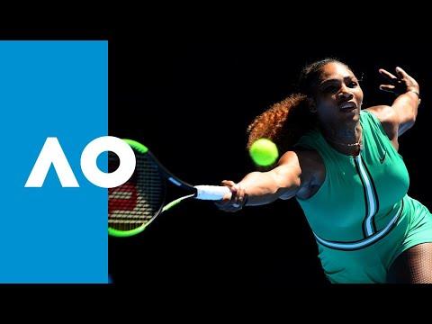 Serena Williams v Dayana Yastremska first set highlights 3R  Australian Open 2019