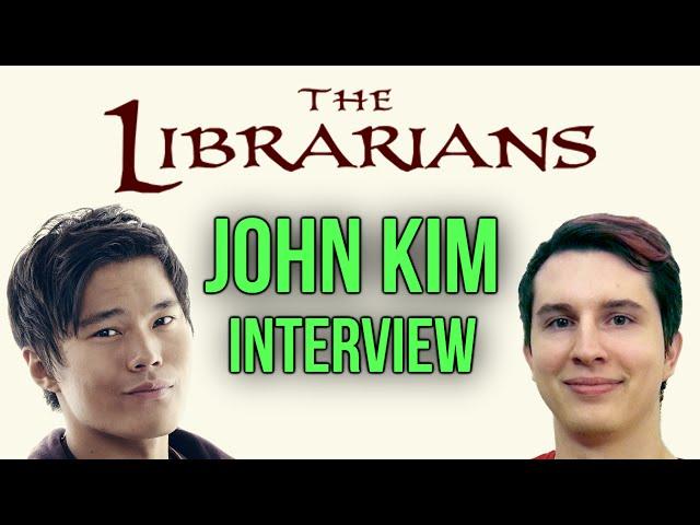 John Kim Interview w/ Drift0r (Star of The Librarians TV Show) (Ezekiel Jones)
