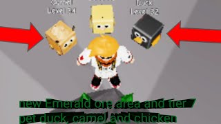 Roblox pet mining simulator part 9:new Ore area and tier 7 pet chicken, duck and camel