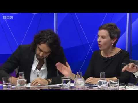 Russell Brand  vs Nigel Farage - BBC Question Time