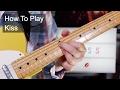 'Kiss' Chords - Prince Guitar Lesson