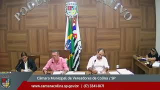Câmara Municipal de Colina - 9ª Sessão Extraordinária  - 16/09/2019