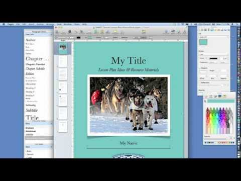 How to Create an ePub Digital Book Using Pages