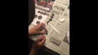 アートスクール銀座 ワークショップ第10回 陶印制作講座 http://a-s-gin...