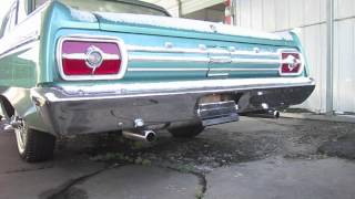 Cold Starts 2012: 1965 Ford Fairlane 500 289 (Start Up, Exhaust)
