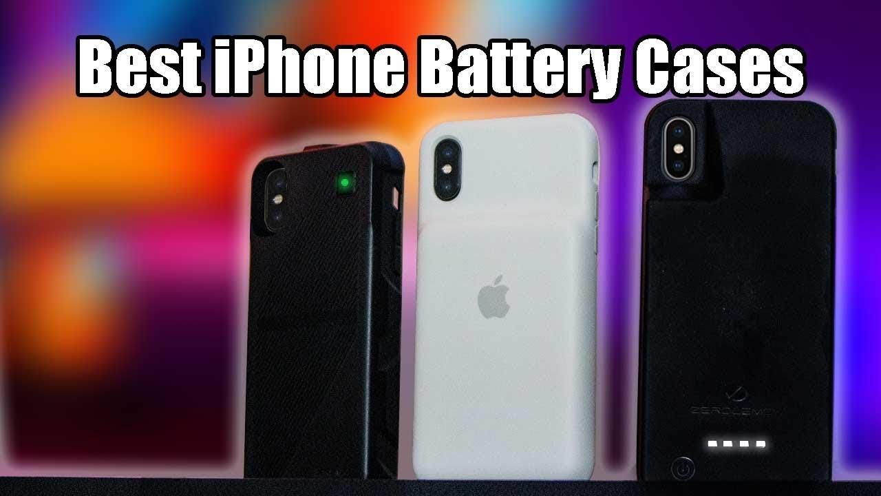 sale retailer f6e97 88e4b iPhone X/Xs Battery Case VS Apple Smart Battery Case - Zero Lemon, EasyAcc  Qi Wireless Review