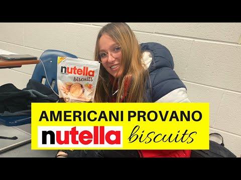 AMERICANI PROVANO I NUTELLA BISCUITS