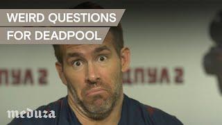 Weird-ass Deadpool questions for Ryan Reynolds