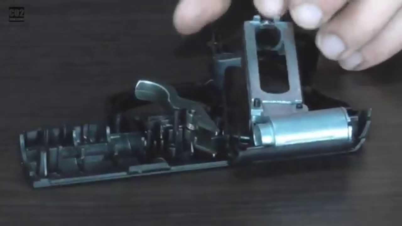 Полным аналогом crosman c31, только металлическим (кроме рукоятки). 25 см. Не вопрос, на крайняк купить мурку чисто ради ствола,