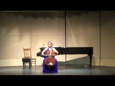 Rachel Mercer, cello - Ligeti Solo Sonata