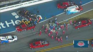 Ryan Newman in 'serious condition' after horrific Daytona 500 crash