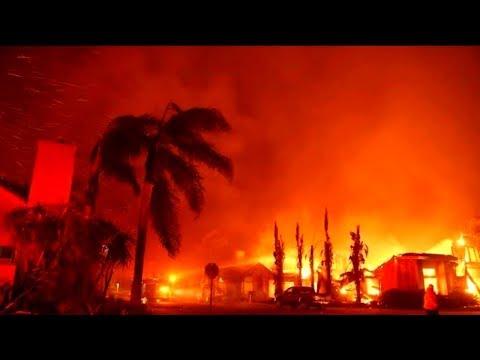 🔴 California Wildfire Apocalypse 2018 LIVE Footage - BREAKING NEWS !!