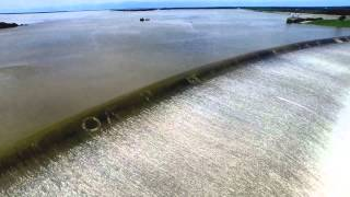 Lake Texoma Spillway historic overflow 5-27-15