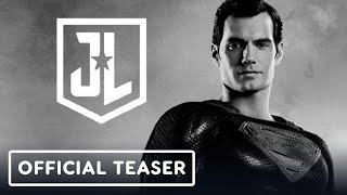 Justice League: The Snyder Cut - Official Announcement Teaser