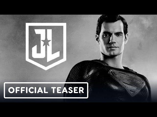 Justice League: The Snyder Cut - Official Announcement Teaser