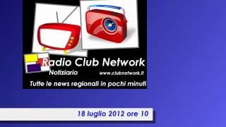 Radiogionale 18 luglio 2012 ore 10