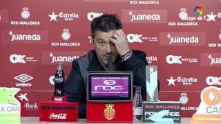 Rueda de prensa de Javier Olaizola tras el RCD Mallorca vs Cádiz CF (0-0)