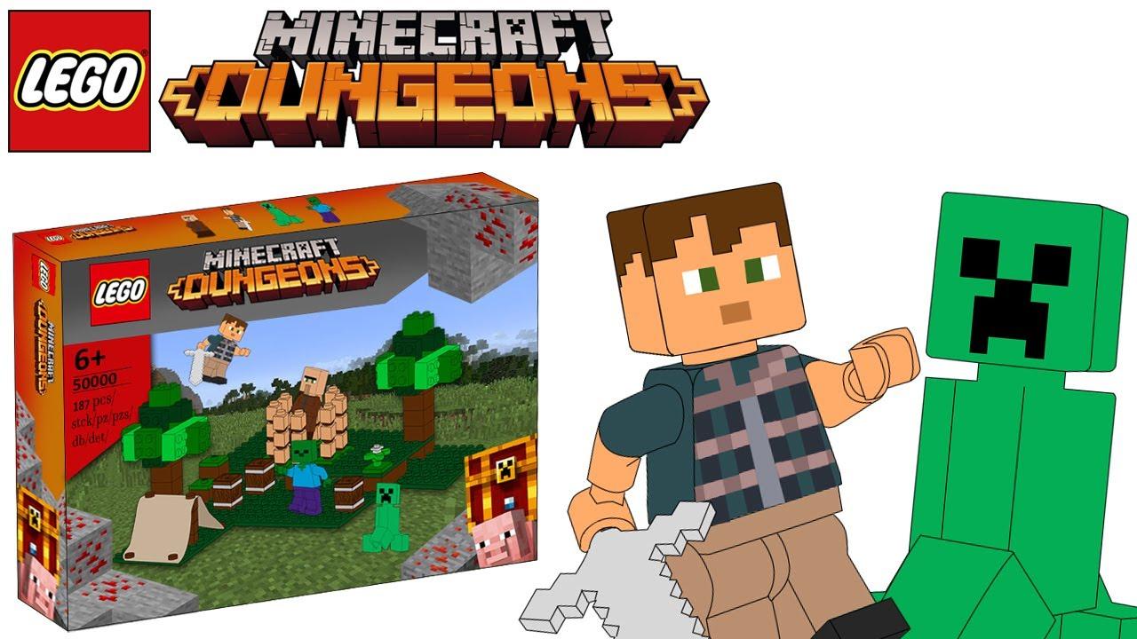 Lego Minecraft Dungeons New Set  CS Draft