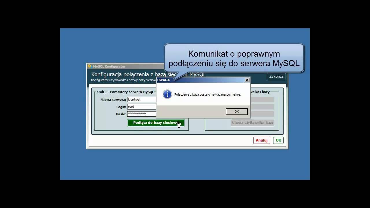Podłącz serwer