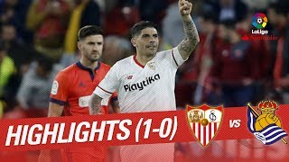 Resumen de Sevilla FC vs Real Sociedad (1-0)
