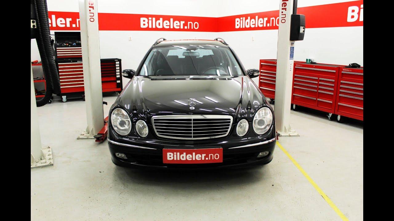 Mercedes E-klasse: Hvordan bytte ABS-ring på drivaksel bak - 2003 til 2009  mod  (W211)