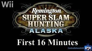 Wii - Remington Super Slam Hunting Alaska: First 16 Minutes
