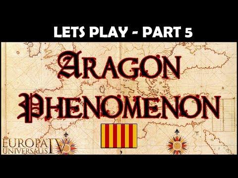EU4 Let's Play - The Aragon Phenomenon   Part 5   Full Playthrough