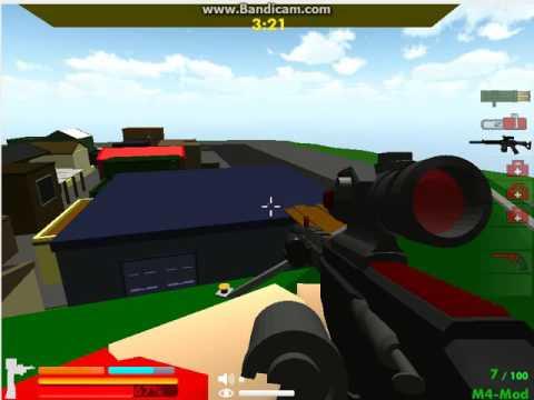 Играйте в игру Minecraft: Zumbi Blocks 3D бесплатно -
