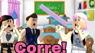 Roblox: A PROFESSORA QUER NOS PEGAR! (Baldi's basics in Education and Learning)