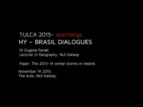 HY – BRASIL DIALOGUES : Dr Eugene Farrell